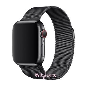 Accessories - NEW Black Magnetic Mesh BAND For Apple Watch